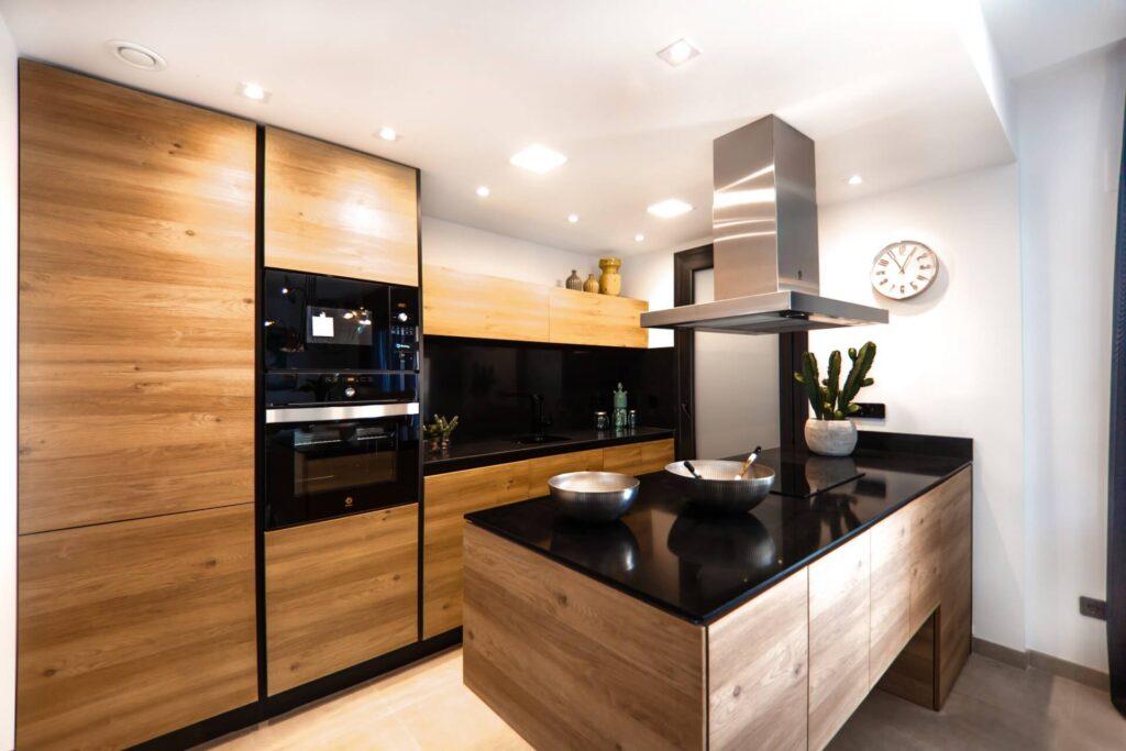 Kuchnie zabudowane
